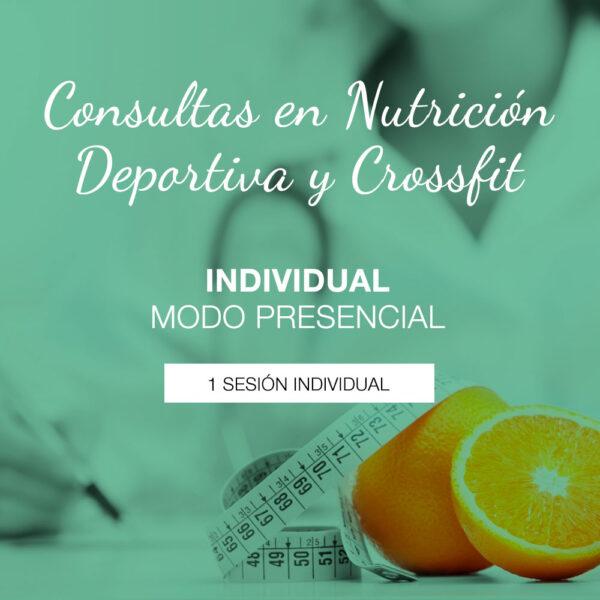 Consulta individual de Nutrición Deportiva presencial