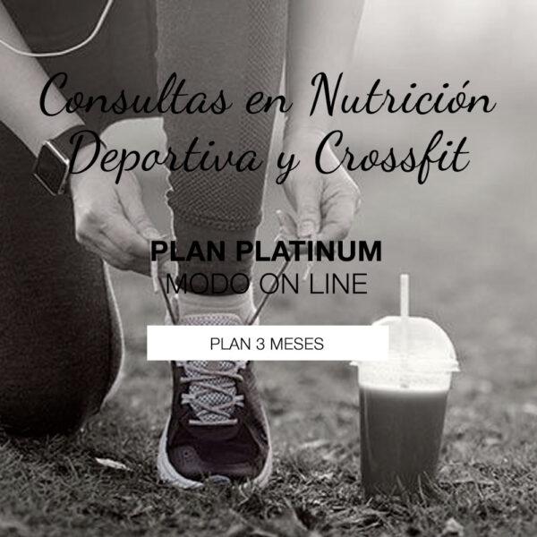 Plan Platinum de Nutrición Deportiva on Line