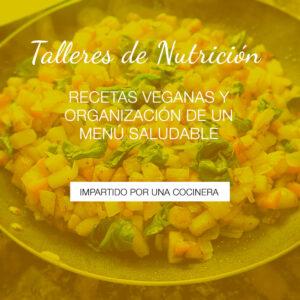 Taller de recetas veganas
