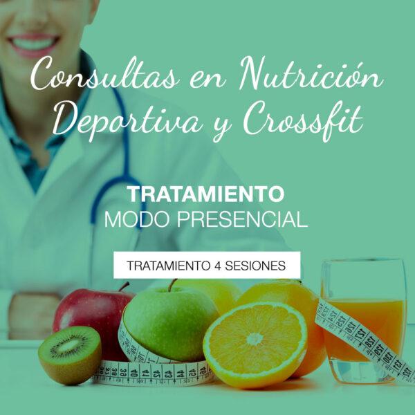 Tratamiento de Nutrición Deportiva presencial