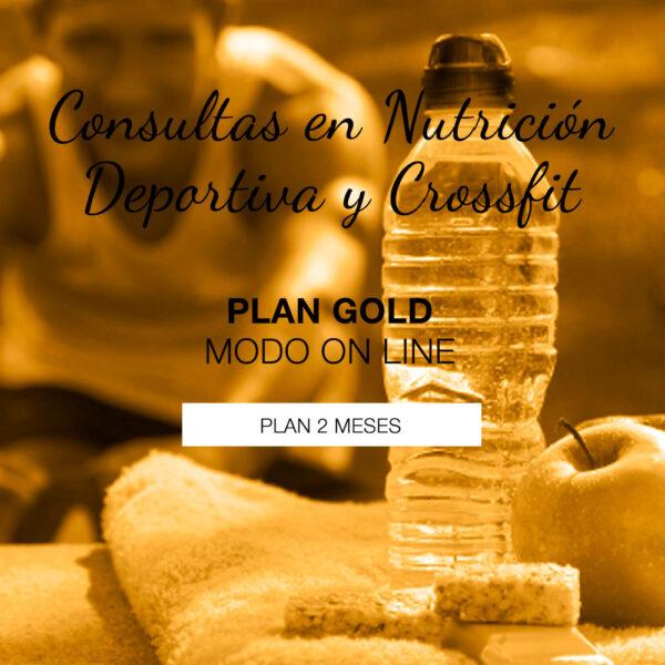 Plan Gold de Nutrición Deportiva on Line